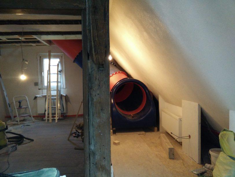 Indoor Röhrenrutsche für Privatkunde