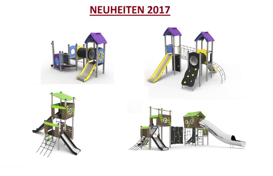 Metallspielgeräte 2017